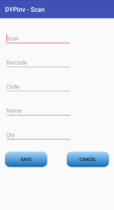 Android Inventory Application for Zebra MC3300 Devices