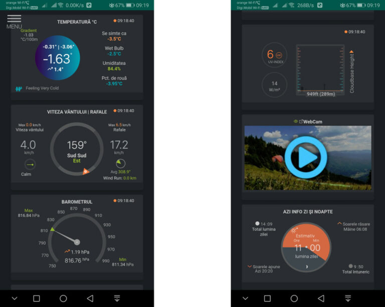 ParaWeather – weather application for android
